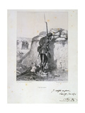 Siege of Paris, Franco-Prussian War, 1870 Giclee Print by Auguste Bry