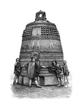 A Bell from the Shiba Quarter, Tokyo, Japan, 1895 Giclee Print by Armand Kohl