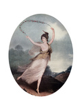 Mademoiselle Celine Parisot, 1799 Giclee Print by Charles Turner