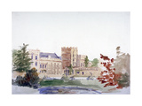 Castle Seen Through Trees, C1864-1930 Giclee Print by Anna Lea Merritt