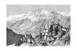 Dankar, Lahul and Spiti, India, 1895 Giclee Print by Armand Kohl