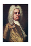 George Frideric Handel, (1685-175), German Composer, C1730S Giclee Print by Balthasar Denner