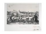 Autant De Pris De L'Ennemi, Franco-Prussian War, 1870 Giclee Print by Auguste Bry