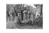 Ruins of an Ahom Temple, Dinajpur, Upper Assam, India, 1895 Giclee Print by Armand Kohl