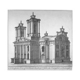 Church of St John the Evangelist, Westminster, London, C1750 Giclee Print by Benjamin Cole