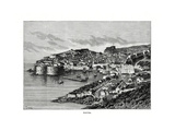 Ragusa, Sicily, Italy, 1879 Giclee Print by Charles Barbant