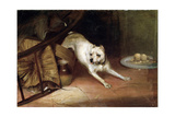 Dog Chasing a Rat, 19th or Early 20th Century Giclee Print by Briton Riviere