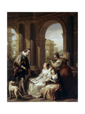 The Spanish Concert, 1754 Giclee Print by Carle van Loo