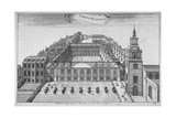 Christ's Hospital, City of London, 1755 Giclee Print by Benjamin Cole
