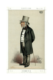 The Cool of the Evening, Lord Houghton, English Poet and Politician, 1870 Giclee Print by Carlo Pellegrini