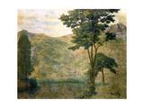 Green Landscape, C1901 Giclee Print by Auguste Herbin