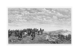 Napoleon III at Solferino, C1880-1882 Giclee Print by Auguste Boulard