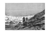 The Kasr-El-Jebel Cirque, Syria, C1890 Giclee Print by Charles Barbant
