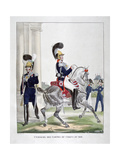 Uniforms of Guards of the French Royal Corps, 1823 Giclee Print by Charles Etienne Pierre Motte