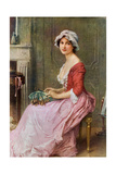 The Seamstress, Late 19th or Early 20th Century Giclee Print by Charles Amable Lenoir