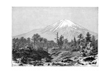 Mount Fuji, Japan, 1895 Giclee Print by Charles Barbant