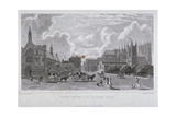 View from Old Palace Yard, Westminster, London, 1825 Giclee Print by Charles Heath