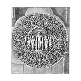 Vishnu Guarded by a Snake, 1895 Giclee Print by C Goutzwiller