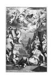 Frontispiece of Arca Noe, 1675 Wydruk giclee autor Athanasius Kircher