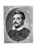 Girolamo Frescobaldi (1583 - 164) Was a Musician from Ferrara Giclee Print by Claude Mellan