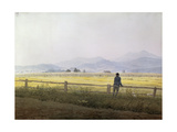 Landscape, Early 19th Century Giclee Print by Caspar David Friedrich