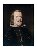 Philip IV of Spain, C1656 Giclee Print by Diego Velasquez