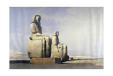 Thebes, December 4th 1838, 19th Century Giclee Print by David Roberts