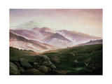 Memory of the Riesengebirge, 1835 Giclee Print by Caspar David Friedrich