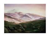 Memory of the Riesengebirge, 1835 Giclee Print by Caspar David Friedrich