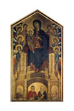 The Madonna in Majesty, 1285-1286 Giclee Print by  Cimabue