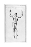 Hercules Who Carries the World, 1757 Giclee Print by Bernard De Montfaucon