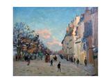 La Place Valhubert, Paris, C1860-1927 Giclee Print by Armand Guillaumin