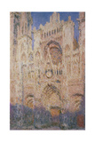 Rouen Cathedral at Sunset, 1892-1894 Giclee Print by Claude Monet