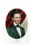 Abraham Lincoln (1809-6), C1865 Giclee Print by  Currier & Ives