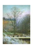 Jardins De Paris' ('Paris Parks), 1920 Giclee Print by Charles-Lucien Leandre