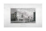 View of the King's Theatre, Haymarket, London, 1837 Giclee Print by Charles Heath