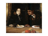 The Farewell Supper, (Toilers of the Se), 1897 Giclee Print by Charles Cottet