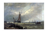 On the Texel, 1856 Giclee Print by Clarkson Stanfield