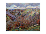 Landscape with Ruins, 1897 Giclee Print by Armand Guillaumin