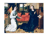 The Annunciation, 1465-1470 Giclee Print by Dieric Bouts