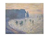 Cliffs at Ètretat, 1885-1886 Giclee Print by Claude Monet