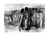 On Parade Giclee Print by Constantin Guys
