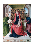 The Virgin and Child with Saints, 1460s Giclee Print by Dieric Bouts