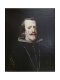 Portrait of Philip IV of Spain, C1656-C1660 Giclee Print by Diego Velasquez