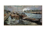 The Seine, 1867-1869 Giclee Print by Armand Guillaumin