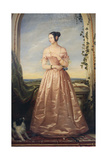 Portrait of the Grand Duchess Alexandra Nikolaevna, 1840 Giclee Print by Christina Robertson