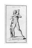 Faun or Satyr, after a Roman Statue, 1757 Giclee Print by Bernard De Montfaucon