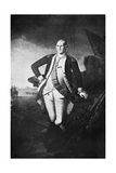 George Washington, the First President of the United States Giclee Print by Charles Willson Peale