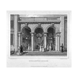 Burlington Arcade, Westminster, London, 1825 Giclee Print by Charles Heath