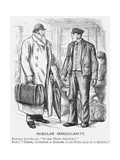 Regular Irregularity, 1878 Giclee Print by Charles Samuel Keene